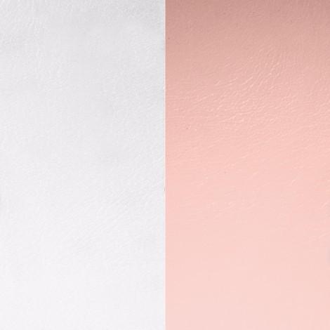 Les Georgettes(レジョルジェット)バングル用本革レザーバンドカラー、ライトグレーxライトピンク